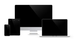 Smartphone, Computer und Tablet