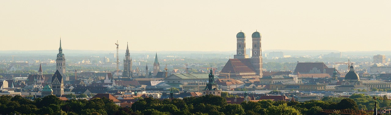 Blick auf die Marienkirche in München