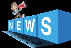 Ein Männchen läuft auf den vier Buchstaben News