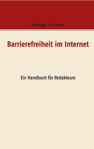 Cover des Buches zum barrierefreien Internet