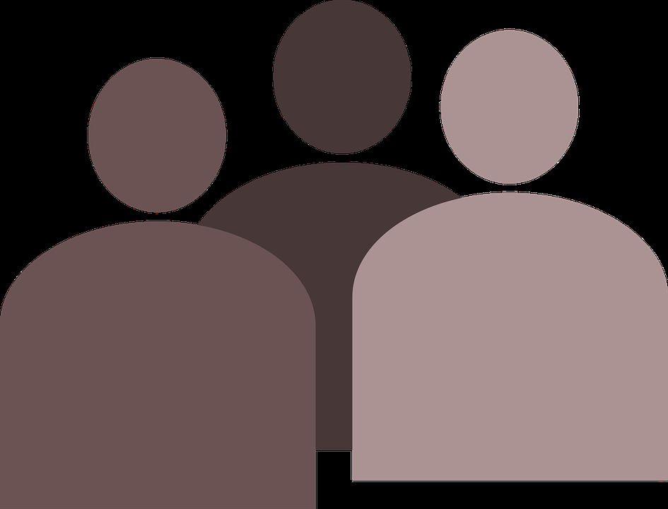 drei-stilisierte figuren
