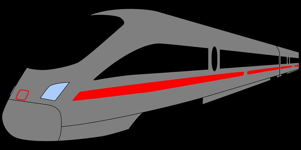 Stilisierter Zug